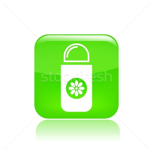 Desodorante ícone cosmético perfume isolado Foto stock © Myvector