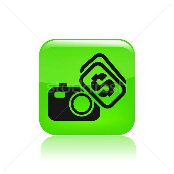 Сток-фото: фото · продажи · икона · деньги · фотограф
