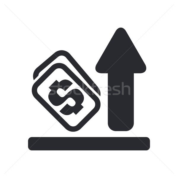 Increase money icon Stock photo © Myvector