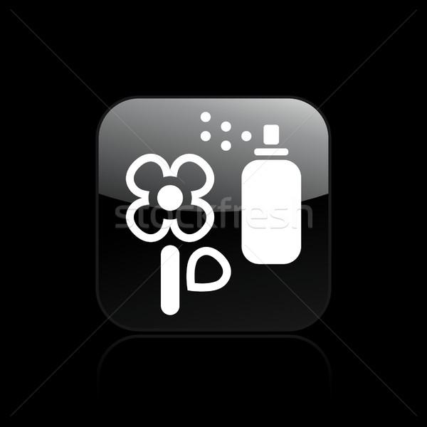 Flower icon  Stock photo © Myvector