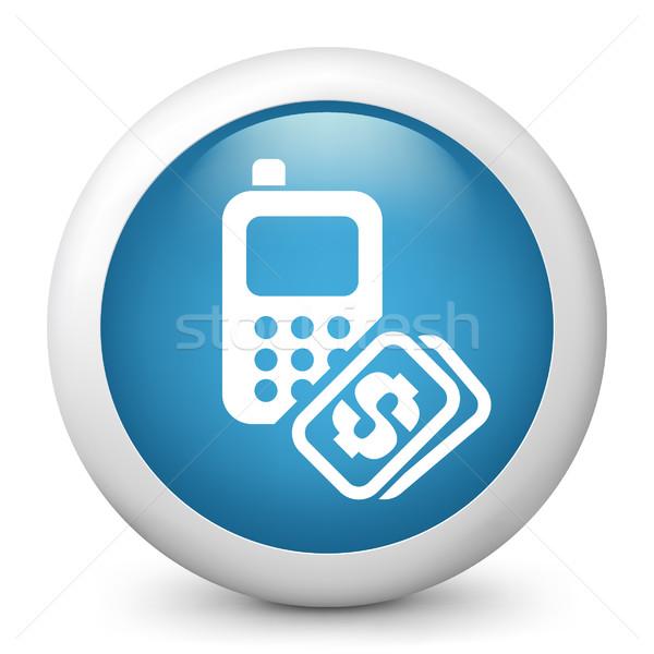 電話 コスト お金 法案 価格 アイコン ストックフォト © Myvector