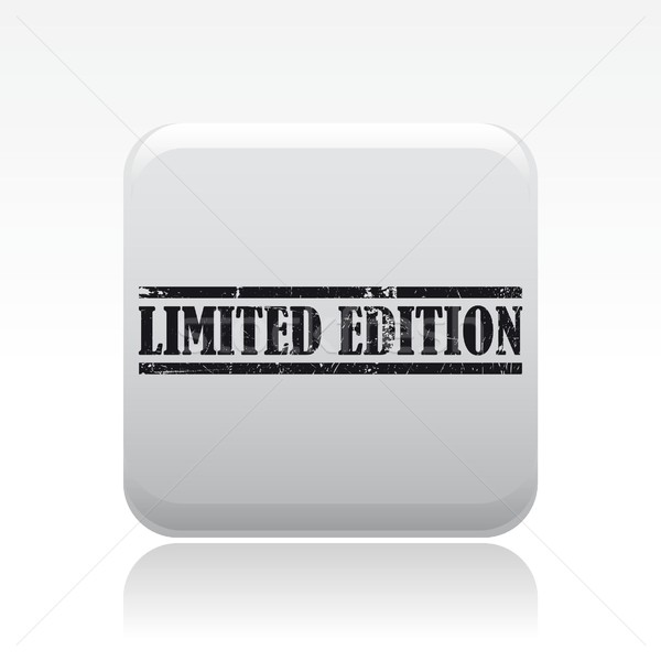 Limited edition icon Stock photo © Myvector
