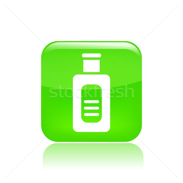 Fles icon container Stockfoto © Myvector
