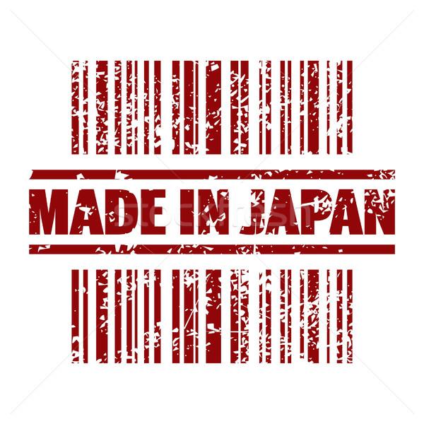 Stockfoto: Japan · icon · markt · stempel · inkt · verkoop