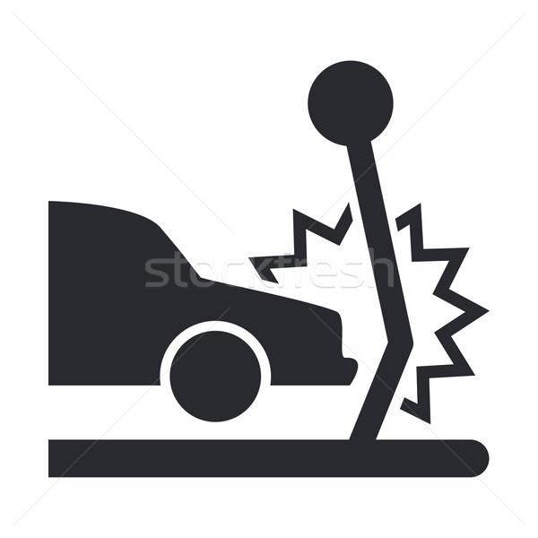 車 クラッシュ アイコン 車 ストックフォト © Myvector