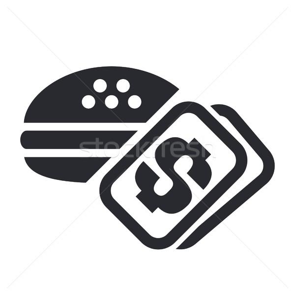 продовольствие цен икона сэндвич Сток-фото © Myvector