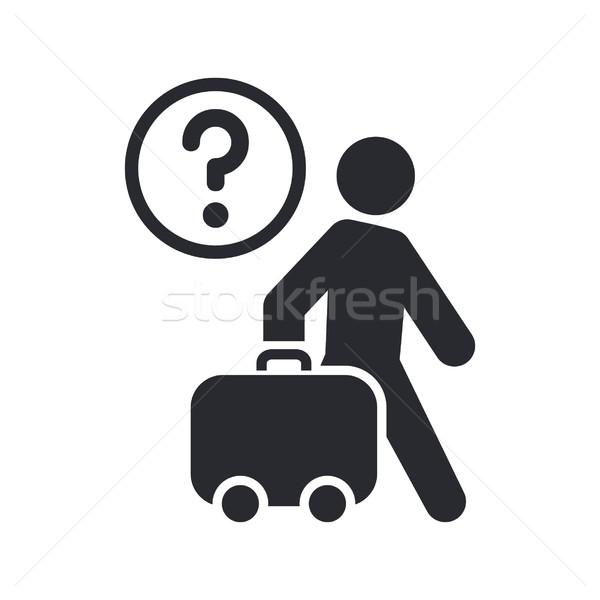 Сток-фото: путешествия · икона · дизайна · чемодан · концепция · праздников