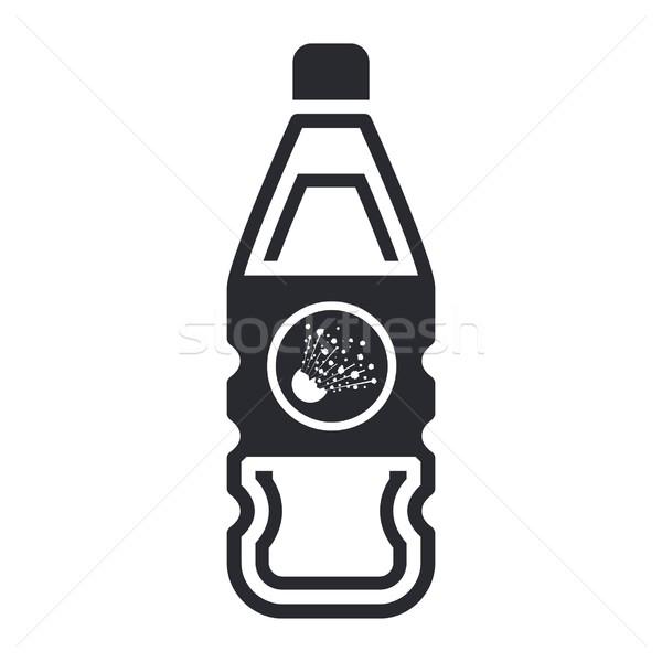 Pericoloso bottiglia icona Foto d'archivio © Myvector
