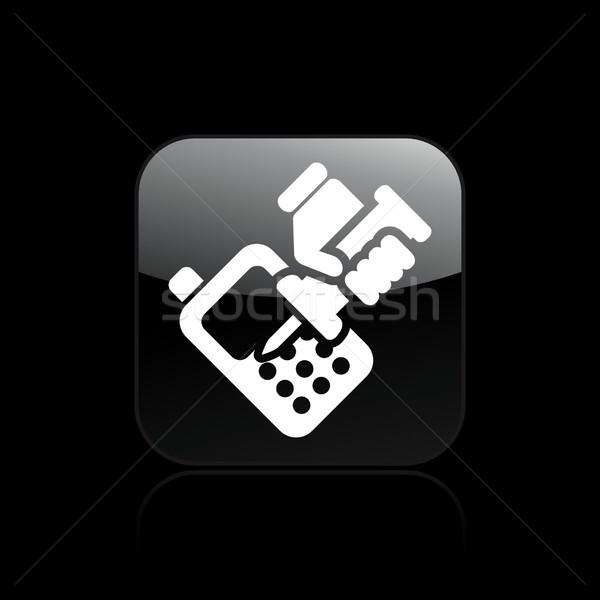 Phone repairer icon Stock photo © Myvector