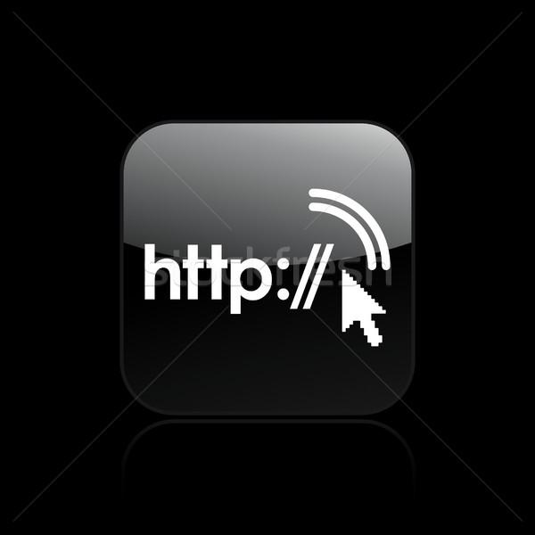 Http icon computer internet home technologie Stockfoto © Myvector