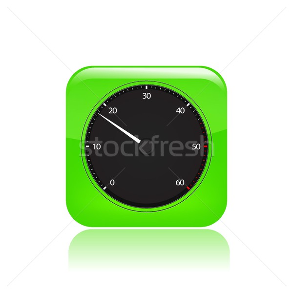 Speed icon Stock photo © Myvector