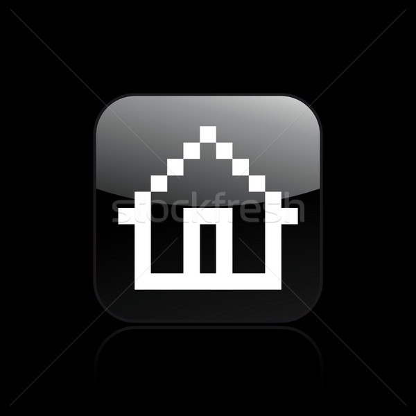 Pixel computer icon  Stock photo © Myvector