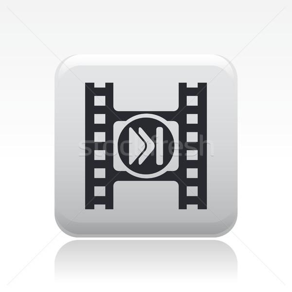 Video skip button Stock photo © Myvector