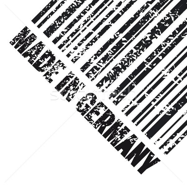 Almanya ikon pazar damga mürekkep etiket Stok fotoğraf © Myvector
