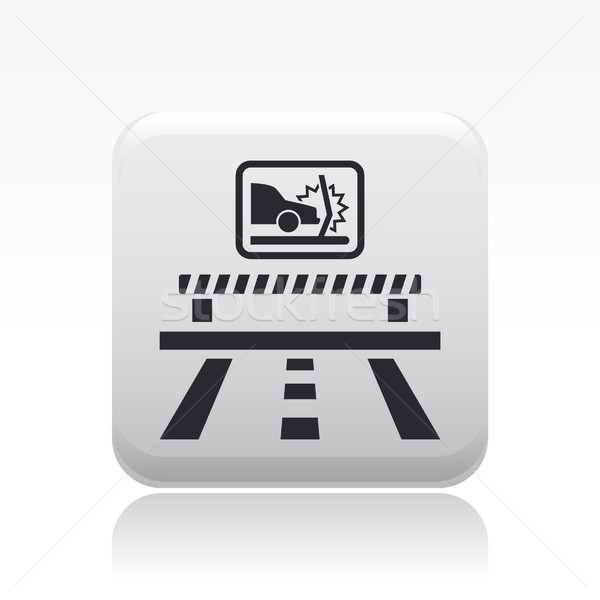 Crash icon Stock photo © Myvector