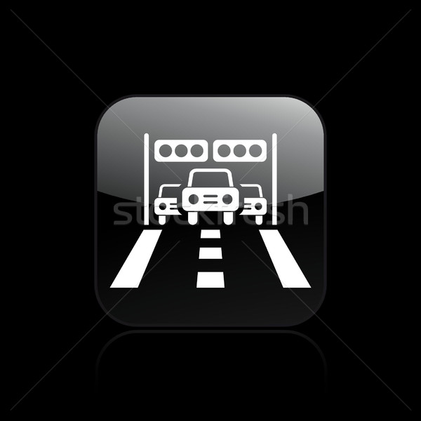 Race arrival icon  Stock photo © Myvector