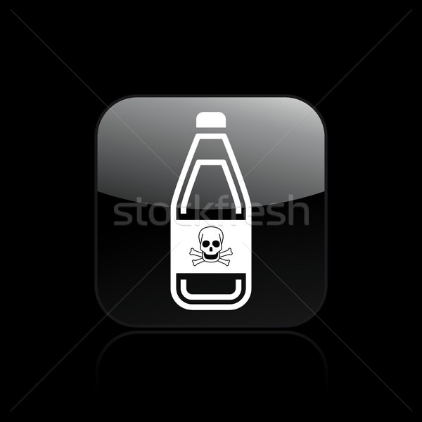 Skull icon  Stock photo © Myvector