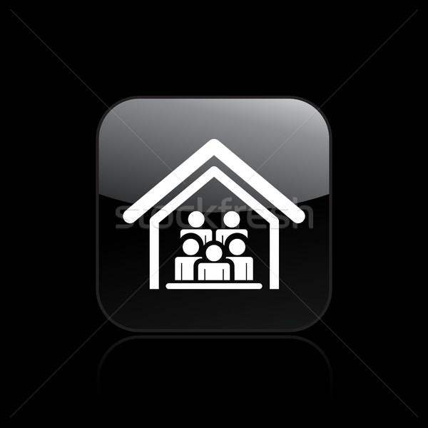 Сток-фото: домой · заседание · икона · дома · группа