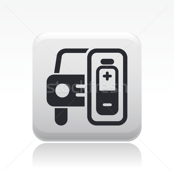 Car charge icon Stock photo © Myvector