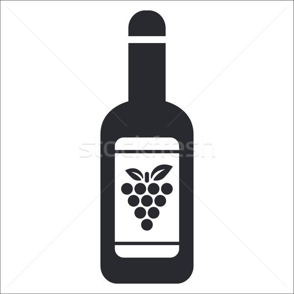 Wine icon Stock photo © Myvector