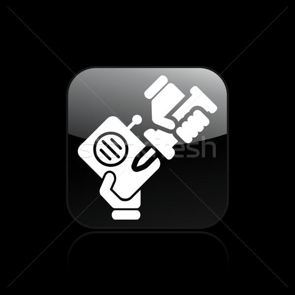 Radio repairer icon Stock photo © Myvector