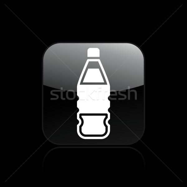 Içmek şişe ikon su Stok fotoğraf © Myvector