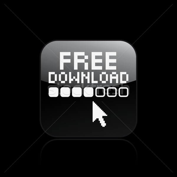 Libre icône de téléchargement souris ordinateurs web www Photo stock © Myvector
