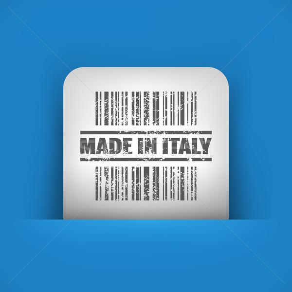 Kék szürke ikon ipar piac bélyeg Stock fotó © Myvector