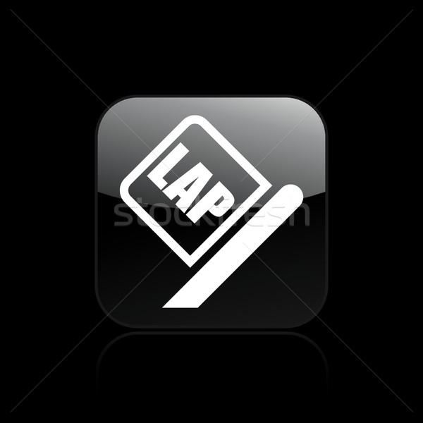 Lap race icon  Stock photo © Myvector