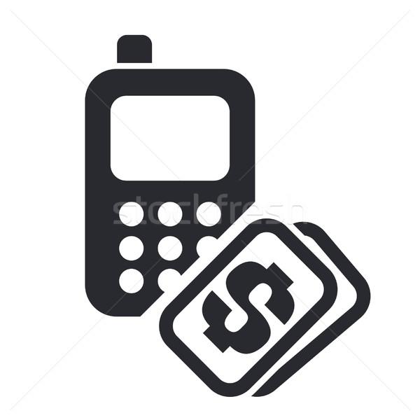 Phone cost icon  Stock photo © Myvector