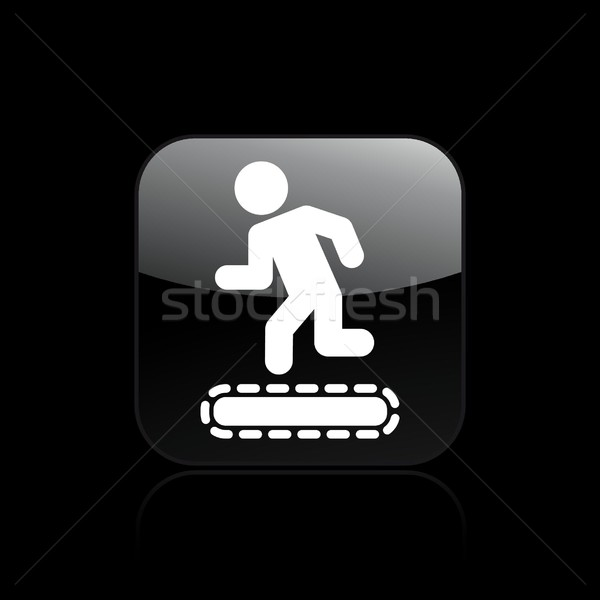 Treadmill icon Stock photo © Myvector