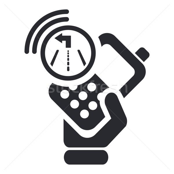 Navigator phone icon Stock photo © Myvector