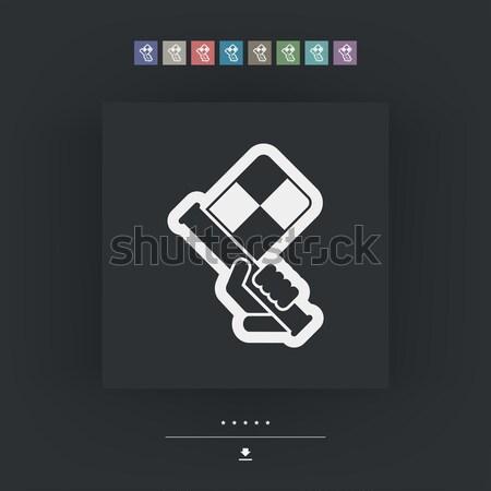 соус икона трубка вектора изолированный иллюстрация Сток-фото © Myvector