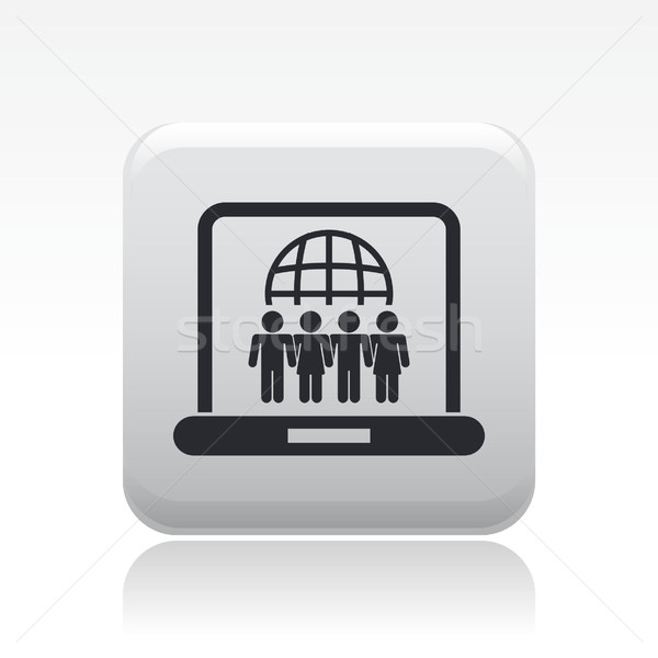 Social network icon  Stock photo © Myvector