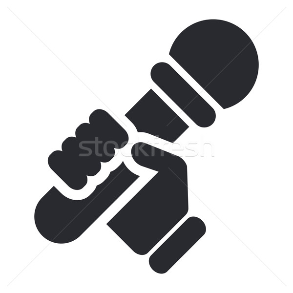 Karaoke icon  Stock photo © Myvector