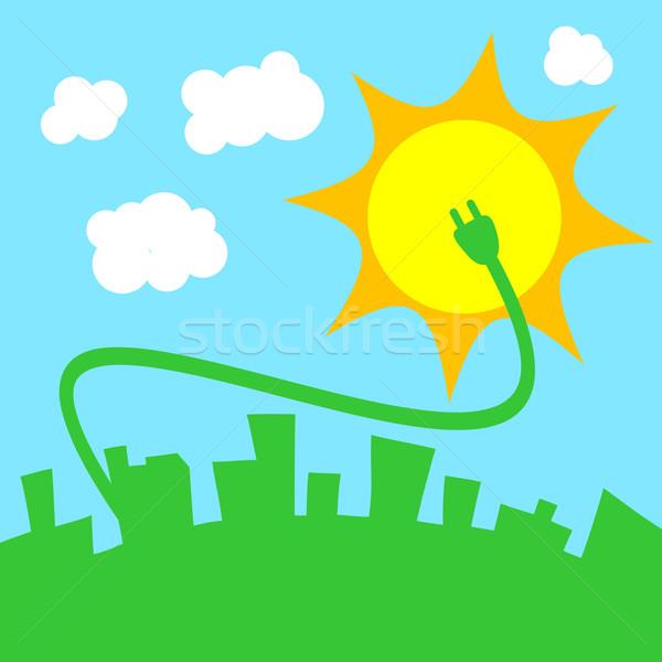 Green power concept design Stock photo © Myvector