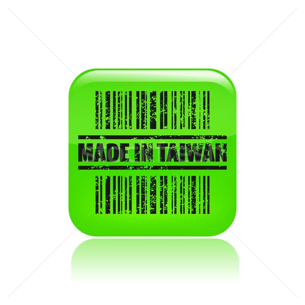 Made in Taiwan icon  Stock photo © Myvector