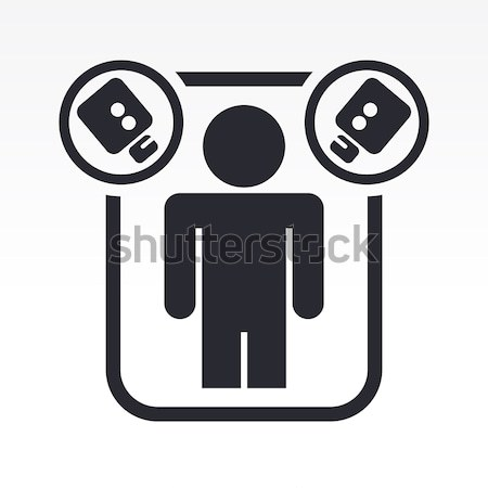 Corruption concept single icon Stock photo © Myvector