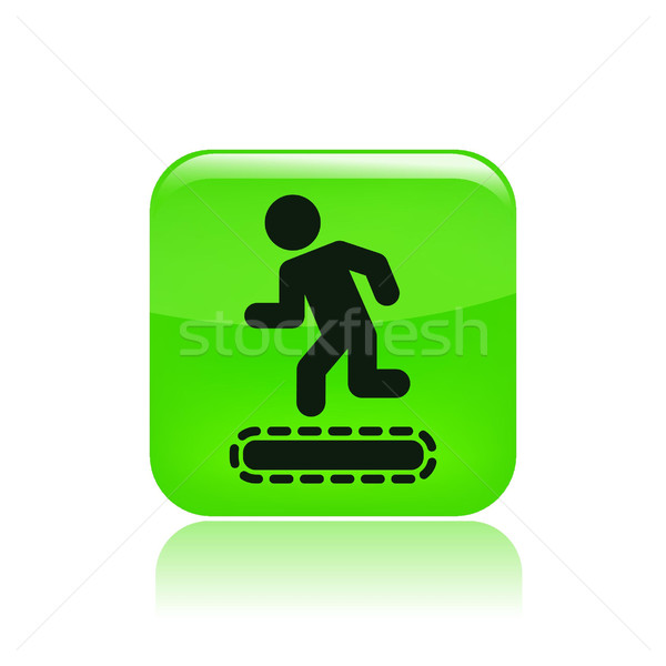 Tapis roulant icon Stock photo © Myvector