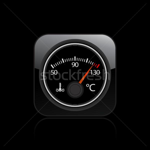 Engine temperature icon  Stock photo © Myvector