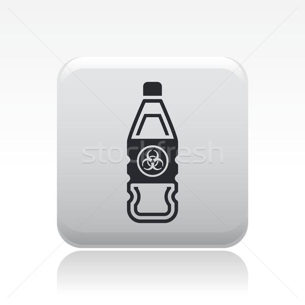Bio danger icon Stock photo © Myvector