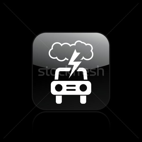 Car icon  Stock photo © Myvector