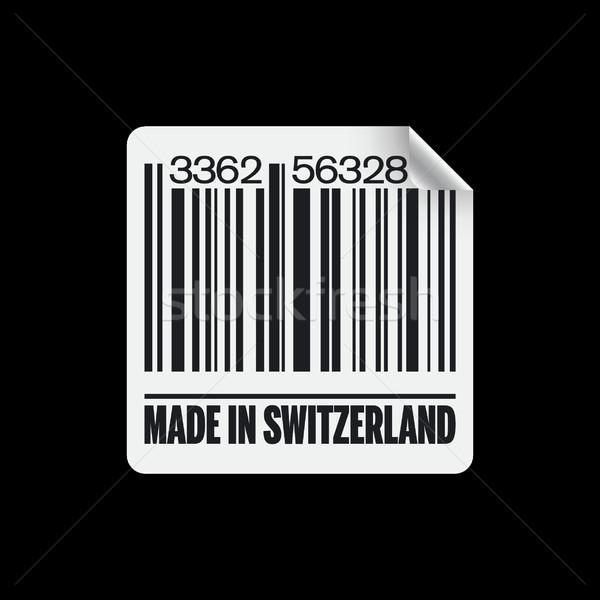 Сток-фото: икона · рынке · карт · Label · купить · штрих