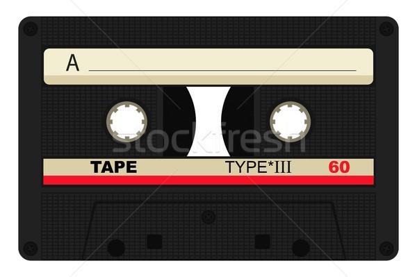 Single '80 tape design Stock photo © Myvector