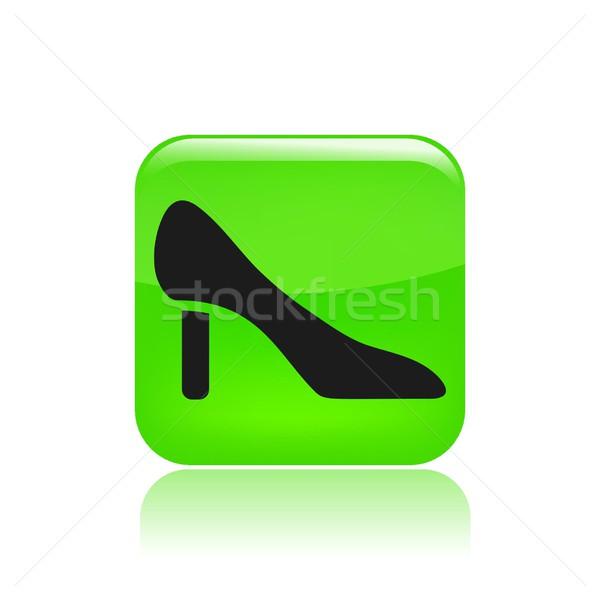 обуви икона моде одежду Сток-фото © Myvector