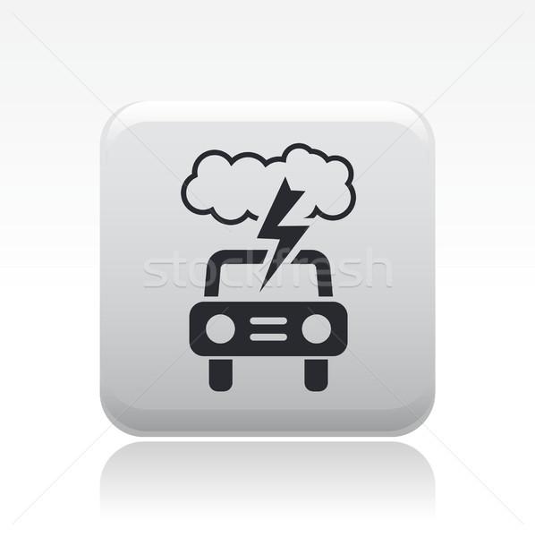 Danger car icon  Stock photo © Myvector