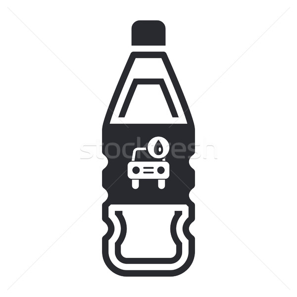 Lava-jato detergente garrafa Foto stock © Myvector
