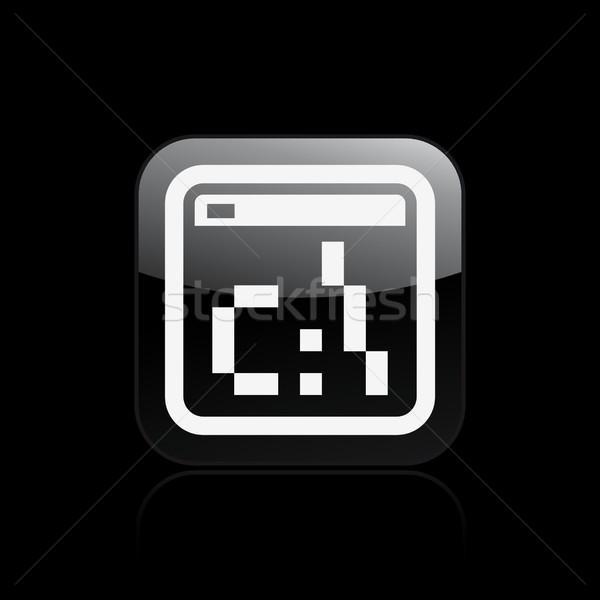 Pixel icon Stock photo © Myvector