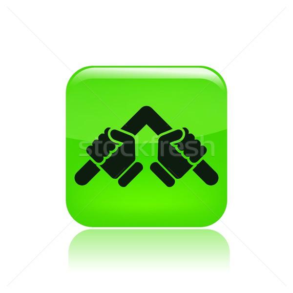 Bar bender icon Stock photo © Myvector
