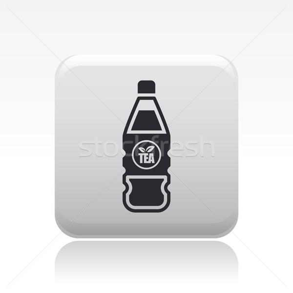 чай бутылку икона Бар пить контейнера Сток-фото © Myvector